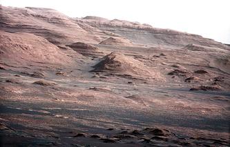 Снимки поверхности Марса, сделанные марсоходом Curiosity