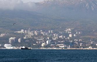 Вид на побережье Крыма