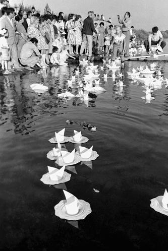 Акция, посвященная памяти погибших от последствий ядерных испытаний на Семипалатинском полигоне, 1990 год
