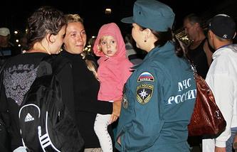 Беженцы с Украины в Бурятии. Архив