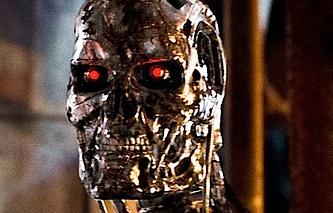 """Кадр из фильма """"Terminator: Genisys"""""""