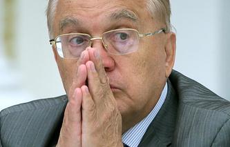 Ректор МГУ, президент Союза ректоров Виктор Садовничий