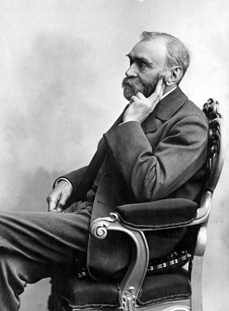 Альфред Нобель, 1896 год