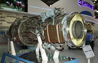 Турбовальный двигатель Д-136-2 (Мотор Сич, Украина)