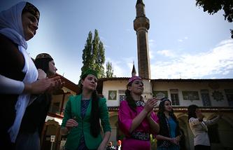 Крымские татары, Бахчисарай