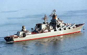 """Флагман Тихоокеанского флота крейсер """"Варяг"""""""