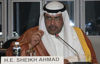 Глава АНОК Ахмад Аль-Фахад Аль-Сабах
