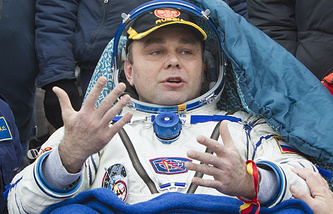 Космонавт Роскосмоса Максим Сураев