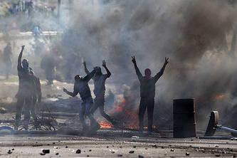Арабские протесты на севере Израиля, ноябрь 2014 года
