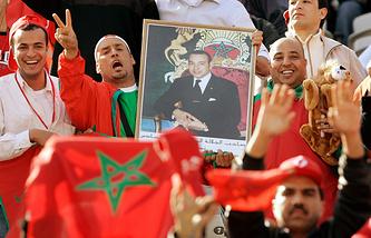 Болельщики сборной Марокко