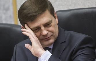 Руководитель Федерального космического агентства Олег Остапенко