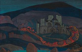 """Николай Рерих, """"Град обреченный"""", 1914 год, эстимейт £800,000–1,200,000"""