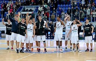 "Баскетболисты ""Нижнего Новгорода"""
