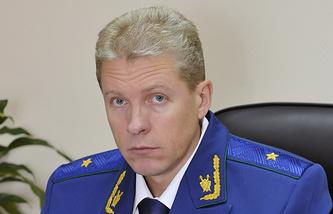 Начальник управления правовой статистики Генпрокуратуры России Олег Инсаров