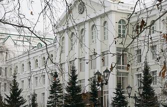 Здание правительства Ханты-Мансийского автономного округа