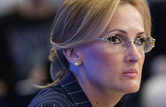 Глава комитета Госдумы по безопасности и противодействию коррупции Ирина Яровая