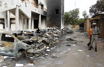 Протесты в Буркина-Фасо