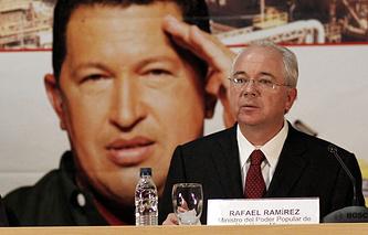 Глава МИД Венесуэлы Рафаэль Рамирес