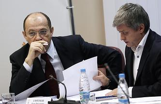 Сергей Прядкин и Игорь Ефремов