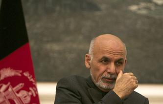 Президент Афганистана Ашраф Гани Ахмадзай