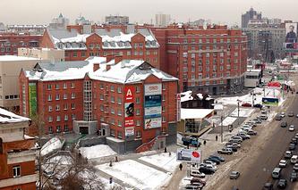 Жилые дома на проспекте Димитрова в Новосибирске