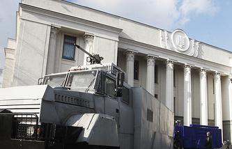 Архив. Здание Верховной Рады, Киев