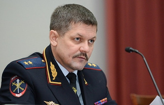 Начальник Главного управления МВД России по городу Москве Анатолий Якунин