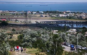 Вид на Керченский пролив