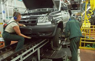 Ульяновский автомобильный завод (УАЗ)