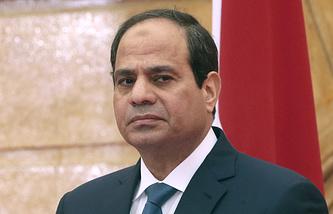 Президент Египта Абдель Фаттах ас-Cиси
