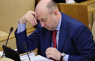 Председатель комитета ГД РФ по конституционному законодательству и государственному строительству Владимир Плигин