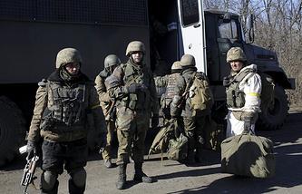 Подразделения вооруженных сил Украины
