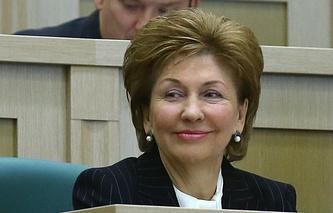Заместитель председателя Совета Федерации Федерального Собрания РФ, сопредседатель оргкомитета Форума Галина Карелова