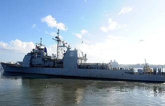 "Американский крейсер ""Виксбург"" (USS Vicksburg)"