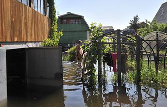 Паводок в Новосибирской области