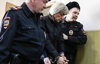 Вячеслав Липезин в Басманном суде