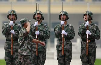 Солдаты Народной Освободительной Армии Китая
