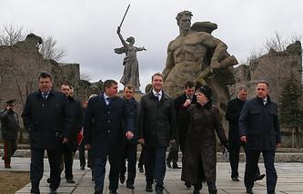 Визит первого вице-премьера РФ Игоря Шувалова в Волгоград