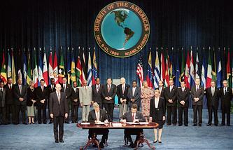 Первый Саммит Америк, 11 декабря 1994 года