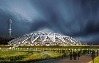 """Проект стадиона """"Самара"""""""
