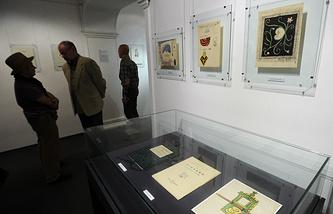 В одном из залов Государственного  музея им. А.А.Бахрушина