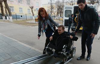 Валерий Спиридонов, которому будет произведена операция по пересадке головы на новое тело