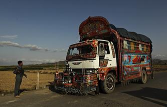 Контрольно-пропускной пункт на востоке Афганистана