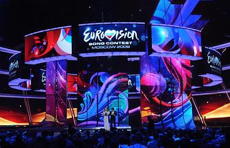 """Конкурсу """"Евровидение 2009"""" в СК """"Олимпийский"""""""
