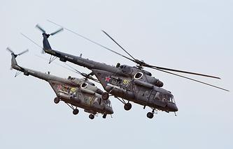 Вертолеты Ми-8АМТШ