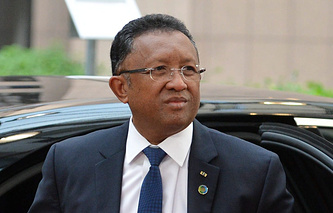 Президент Мадагаскара Эри Радзаунаримампианина