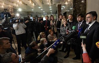 Встреча контактной группы по Украине в Минске, 22 мая 2015 года