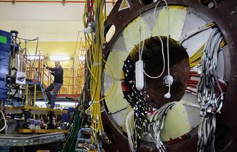 В Институте ядерной физики имени Г.И. Будкера в Новосибирске