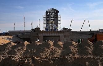 Стартовый комплекс космодрома Восточный