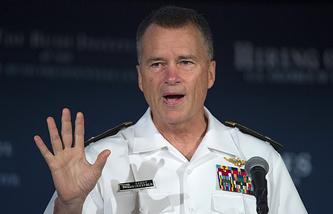Заместитель председателя Комитета начальников штабов вооруженных сил США адмирал Джеймс Уиннефелд